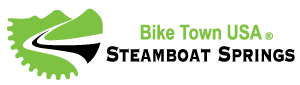 Steamboat Bike Town USA Logo