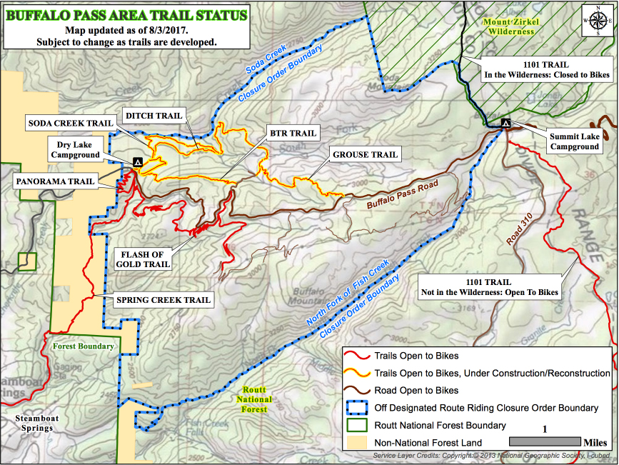 Building New Trails - Steamboat Bike Town USA